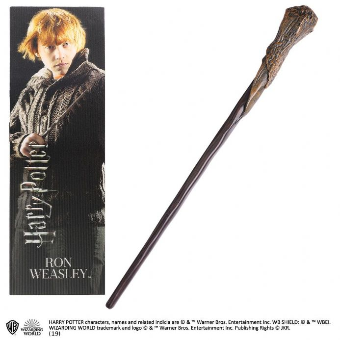 Ron Weasley Wand Toy and Bookmark Gift Set | Buy now at The G33Kery - UK Stock - Fast Delivery